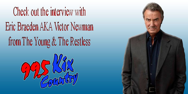 Young & restless star Victor Newman comes down to Kix Country