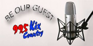 Be a guest on Kix Country!!!