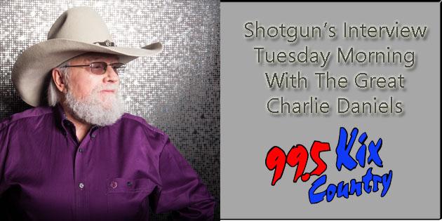 Hear Shotguns Interview With Charlie Daniels