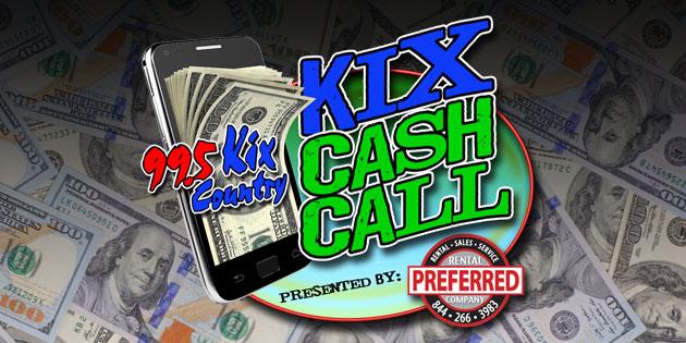 The Kix Cash Call Giveaway