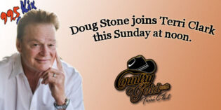 Doug Stone joins Terri Clark this Sunday on Country Gold